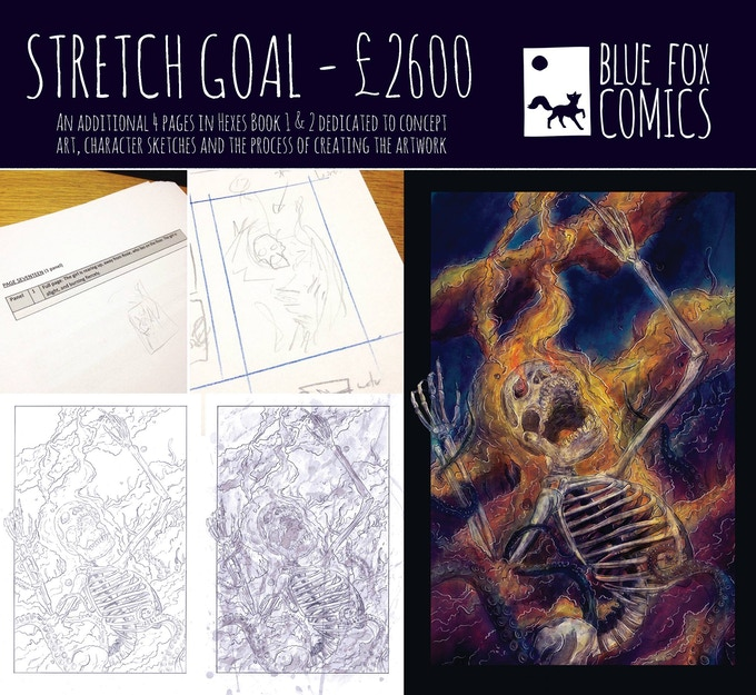 Stretch Goal 3 - 4 more pages per issue!