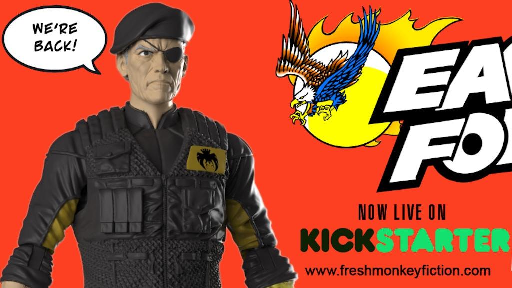 Eagle Force Returns Action Figures project video thumbnail