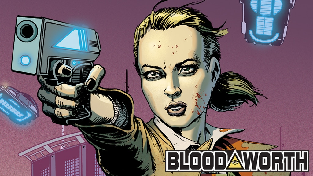 BLOODWORTH Issue #2 project video thumbnail