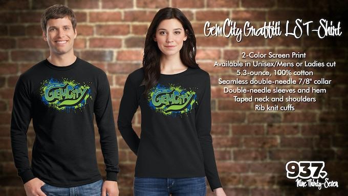 Gem City Graffiti  LS T-Shirt