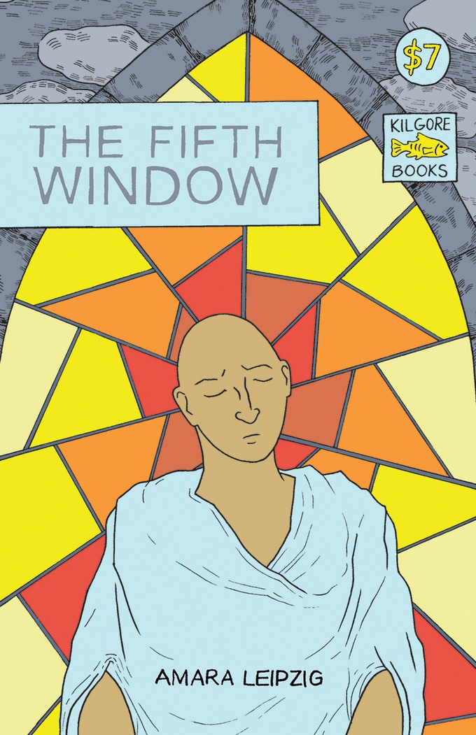 The Fifth Window - 44 pages, b/w, saddle stitched