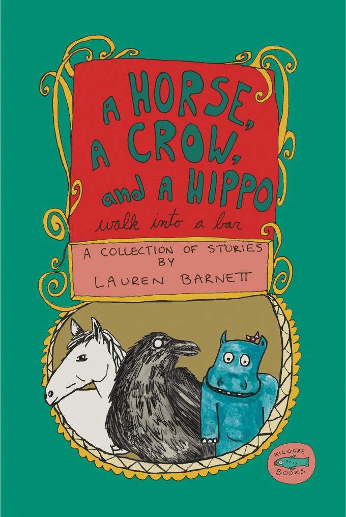 A Horse, A Crow, and a Hippo 76 pages, b/w, perfect bound