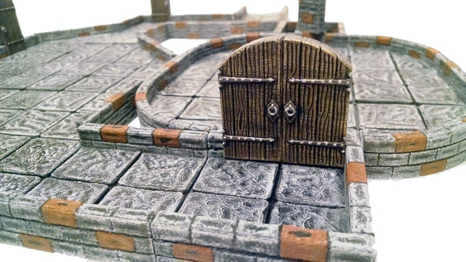We have spent hundreds of hours designing all of the models.  We crammed as much detail as the pieces will hold, even the locks have key holes!