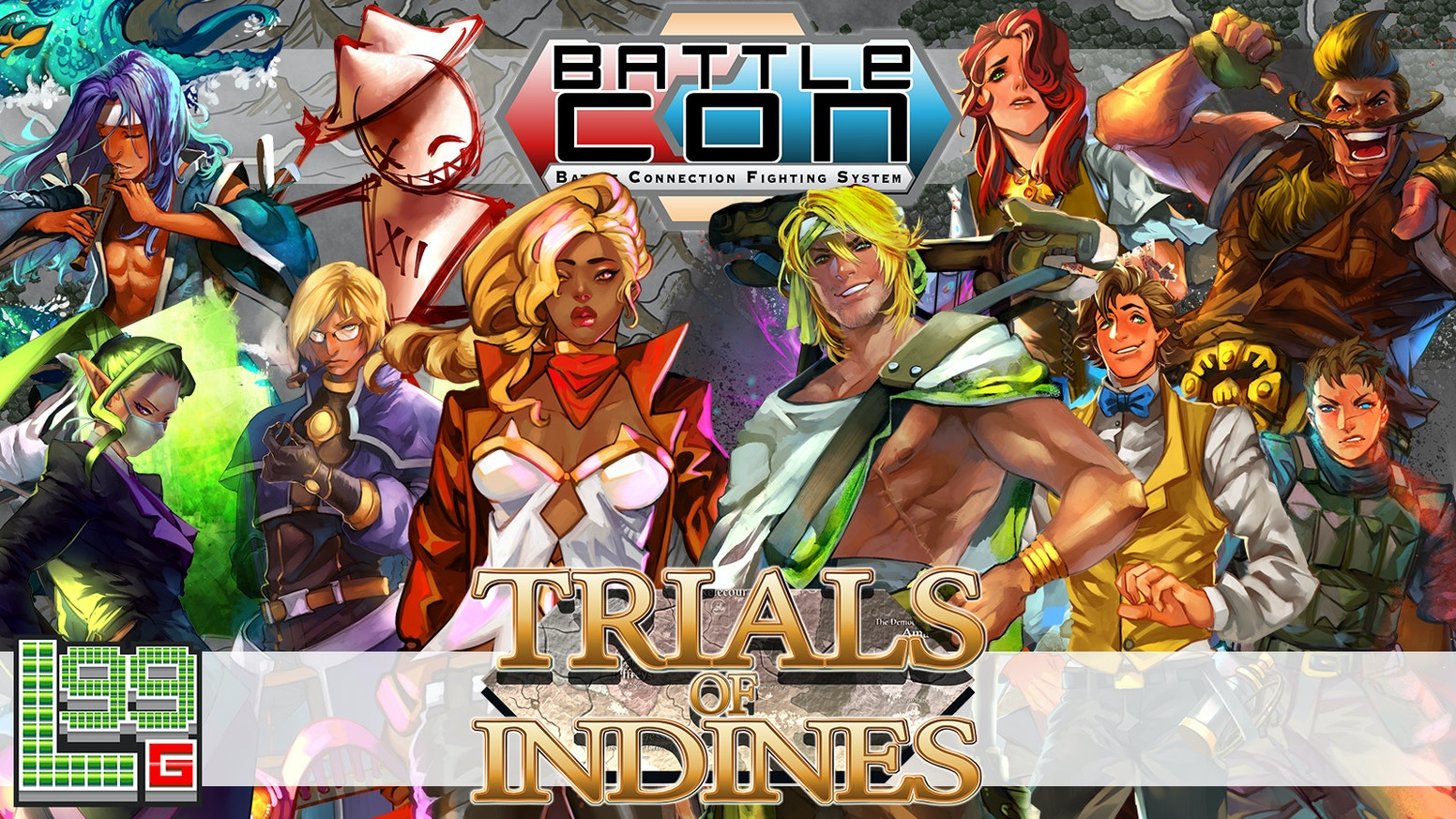 The legendary fighting board game expands with BattleCON: Trials, featuring 10 new fighters, upgraded gameplay, and more!