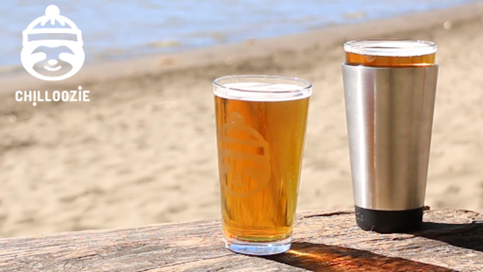 CHILLOOZIE is the first coozie for a pint glass that will keep your beer cold until the very last sip!