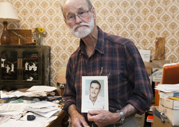'Portrait of a Whistleblower' Photography exhibition by Jessie Boylan – the remarkable story of nuclear veteran Avon Hudson's life long campaign for justice.