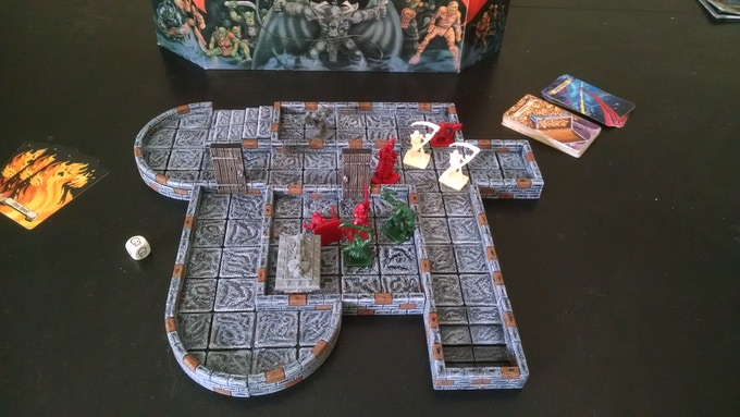 Even if you don't play RPG games like Dungeons and Dragons, or Pathfinder, you can still use TrueTiles to jazz up your favorite dungeon style board games!