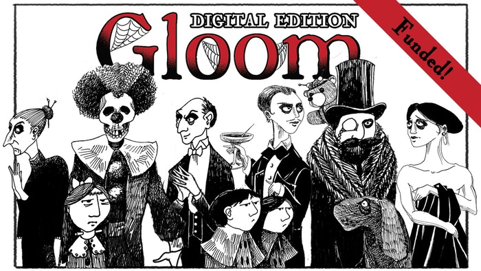In Gloom your goal is sad, but simple: Make your freakish family suffer the greatest tragedies possible.
