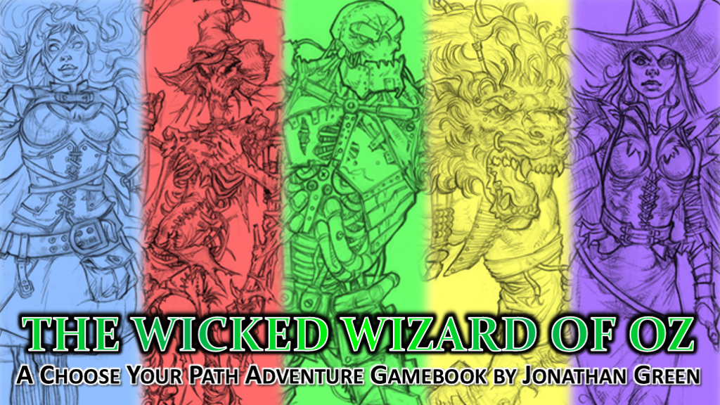 The Wicked Wizard of Oz project video thumbnail