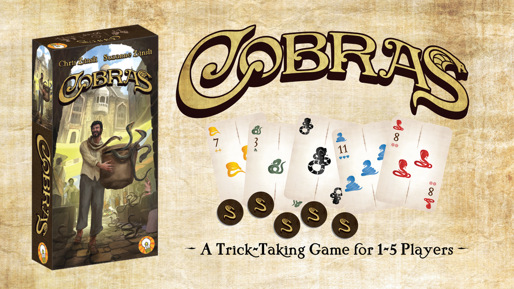 Cobras - A Trick-Taking Game for 1-5 Players project video thumbnail