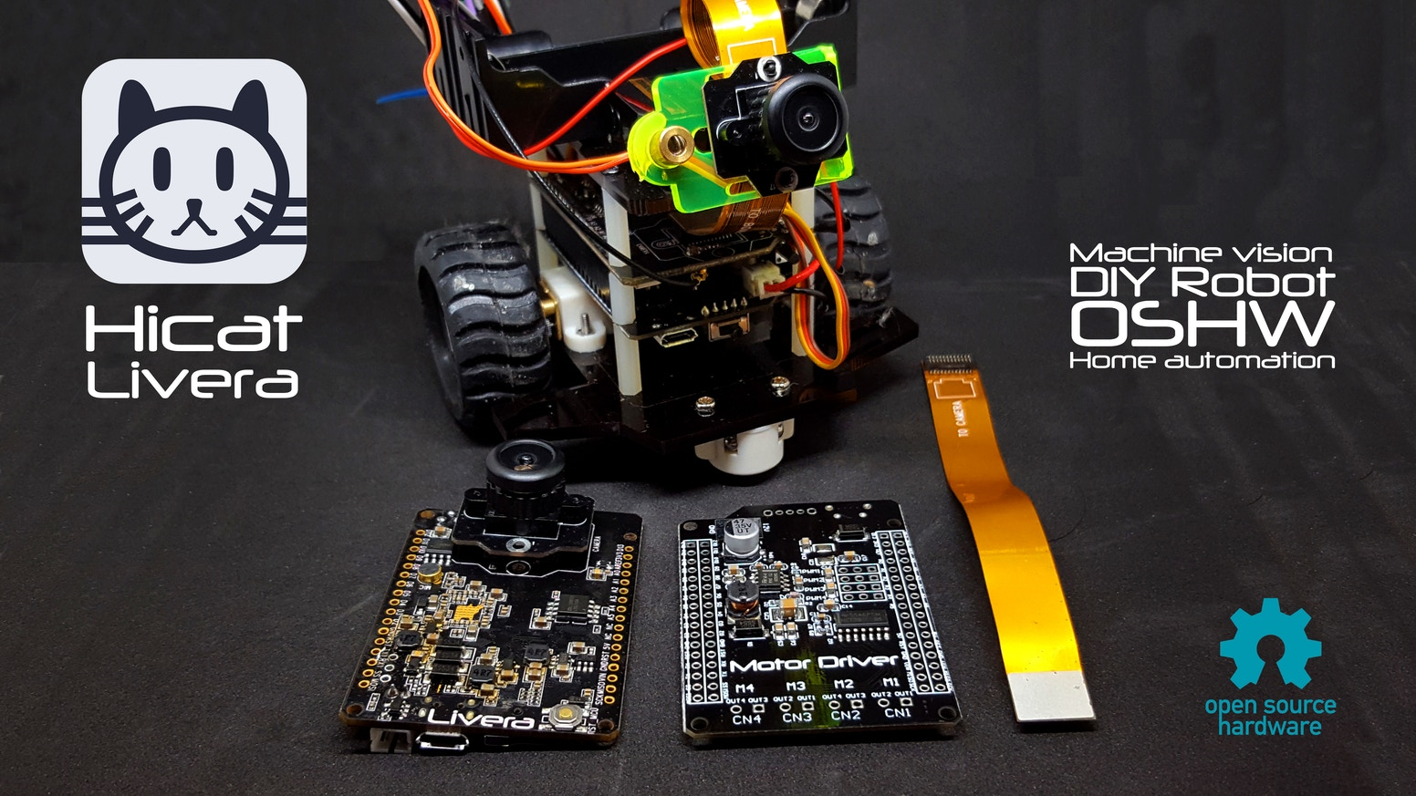 Hicatlivera Start Making Your First Machine Vision Robot By Team Block Diagram Of Metal Detector Robotic Vehicle Livera Aims To Bring Low Cost Features Let More People Diy Their Own