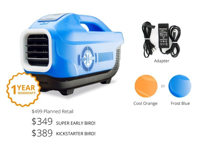 Portable Tent Air Conditioner >> Zero Breeze The World S Coolest Portable Air Conditioner By Zero