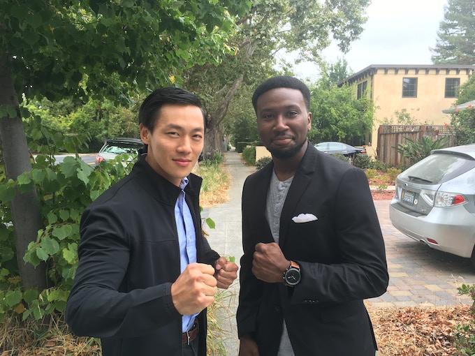 Brian (Frank Wang) & Ron (Marlon Cowart)