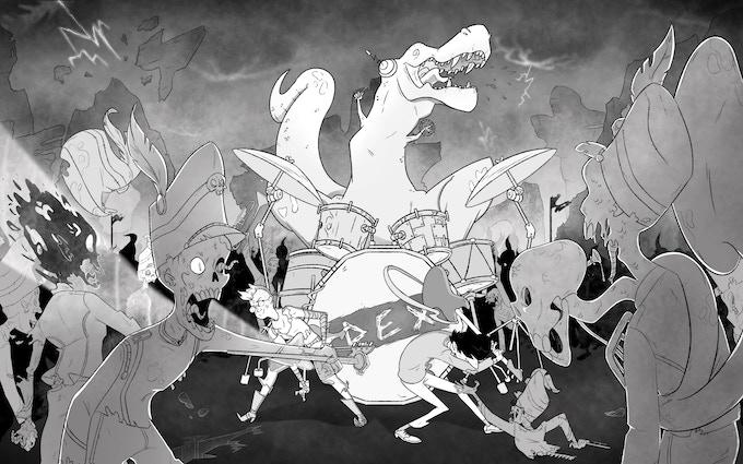TREX vs. the Albuquerque Drum Corpse