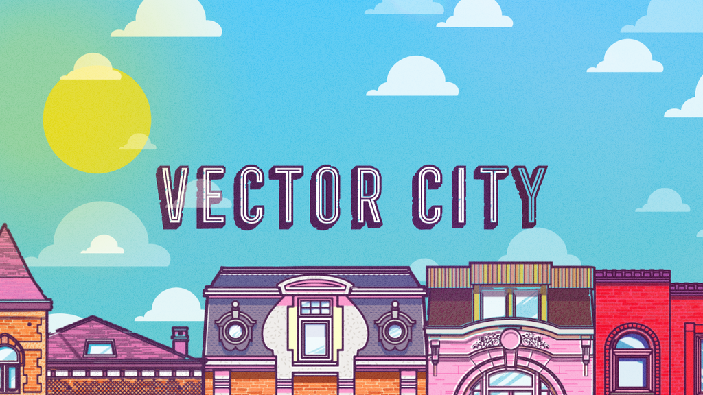 Vector City. A Limited Edition Art Print! project video thumbnail