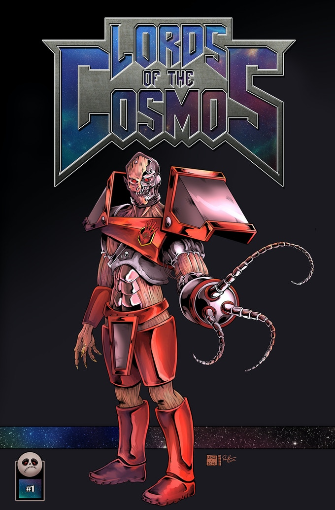 Lords of the Cosmos - Issue #1 Cover