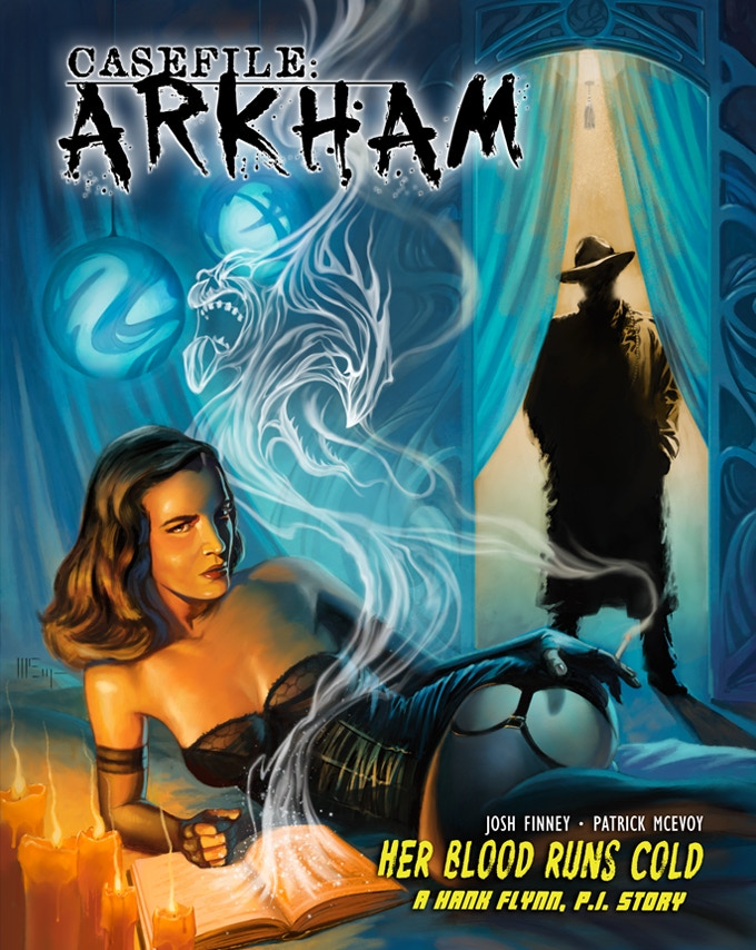CASEFILE: Arkham cover art