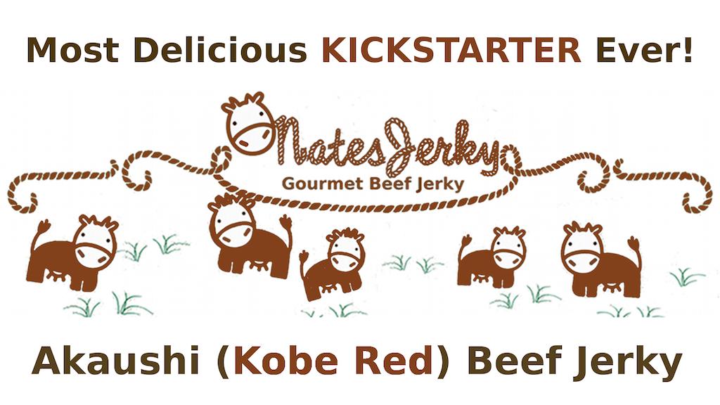 Akaushi (aka Kobe Red) Beef Jerky OMG Delicious! project video thumbnail