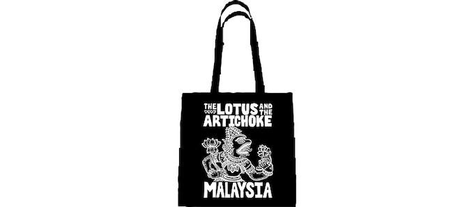 Lotus MALAYSIA totebag design idea