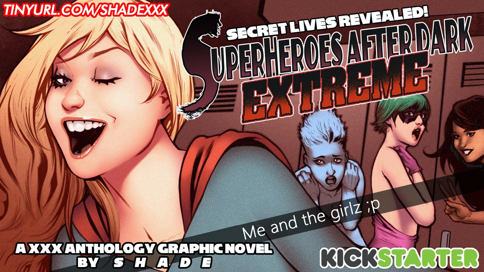 SuperHeroes After Dark (Extreme) is a XXX anthology comic featuring some of the most popular heroes and heroines!