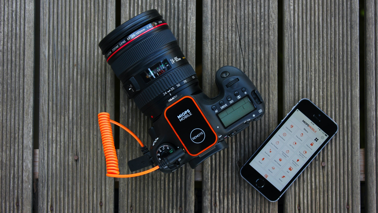 Leave the control of your camera to your smartphone with dozens of creative modes.  Timelapse, Motion, Sound, Vibration, HDR and more.