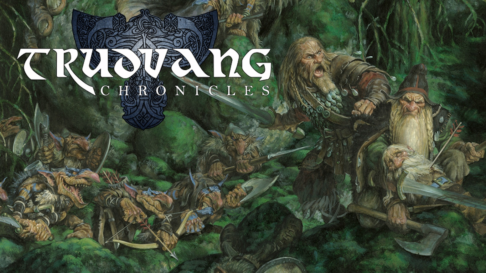TRUDVANG CHRONICLES AVAILABLE. Please spread the word!!