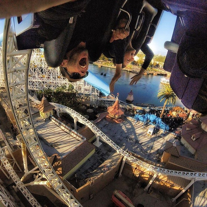 Shoot better selfies. Rollercoaster not included.