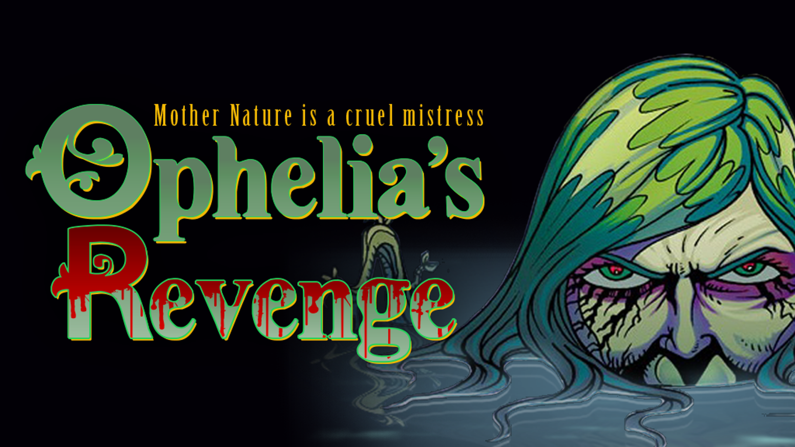 In this comic, Hamlet's Ophelia returns from the dead as a vicious swamp monster who takes out a modern-day Renaissance festival.