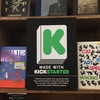 Kickstarted books at the Strand Book Store in NYC.