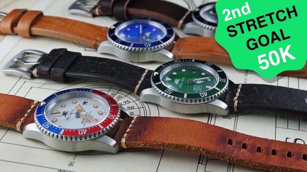 Nettuno & Mercurio, first automatic Aged in Italy watch project video thumbnail