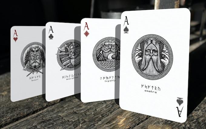 Aces of the Danegeld deck (unique for this deck)