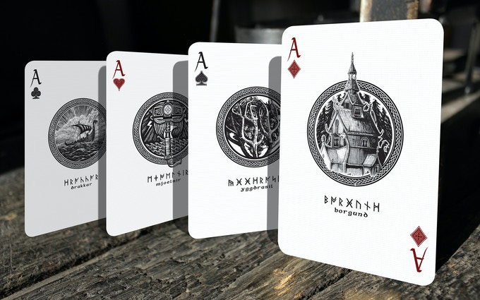 Aces of the Yggdrasil deck (unique for this deck)