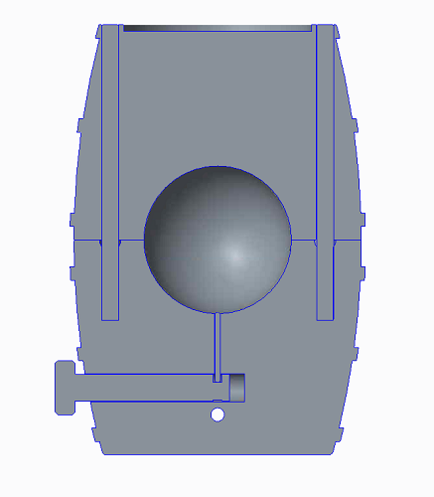 Section View in CAD
