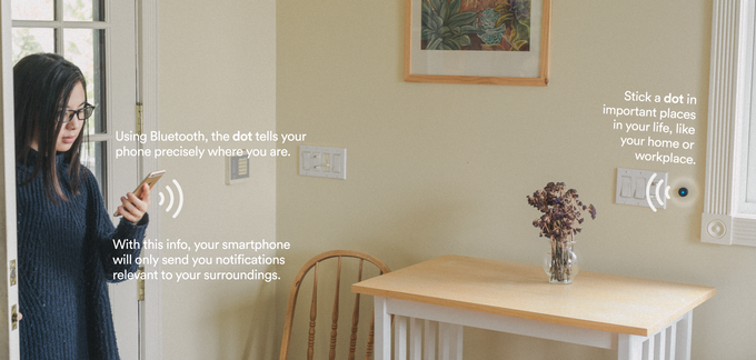 Instead of having to open apps, keep track of reminders and messages, or actively control your surroundings, Dot can make it all happen automatically. Dot can streamline your life: