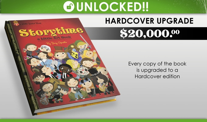 WE DID IT! We unlocked this stretch goal!