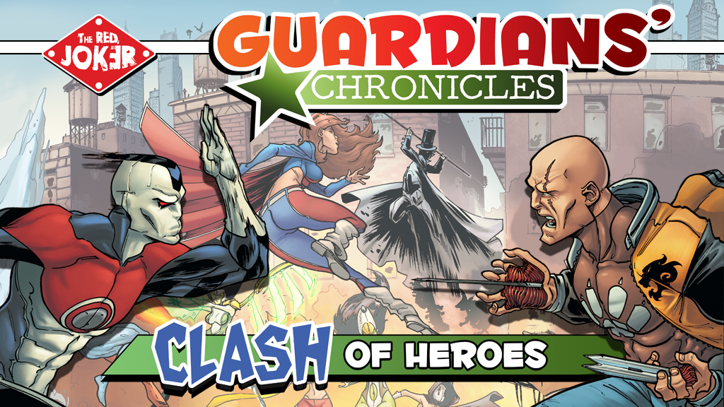 Guardians' Chronicles: Clash of Heroes by The RED JOKER