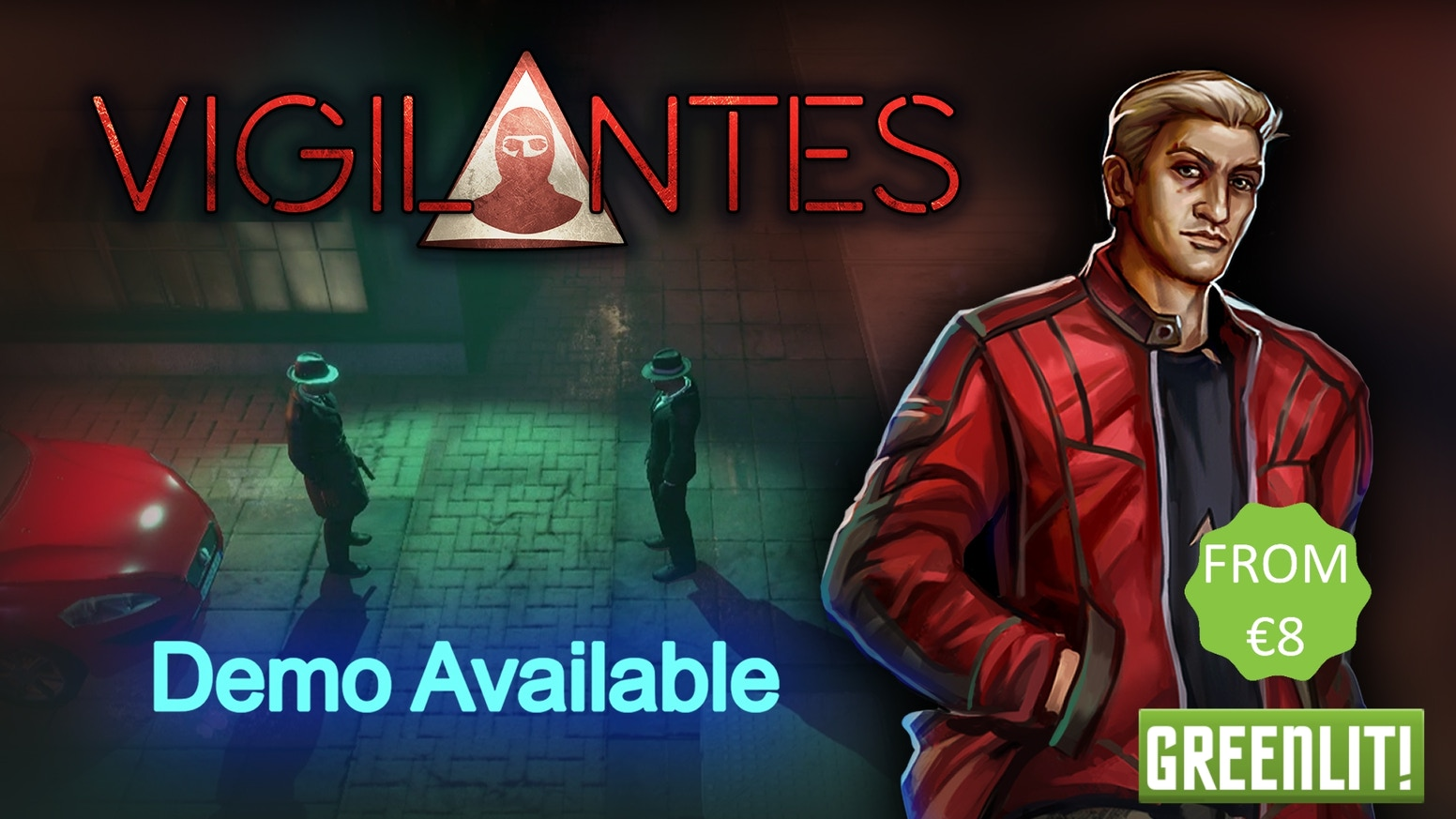 Vigilantes, a crime themed, turn based tactical RPG for PC by