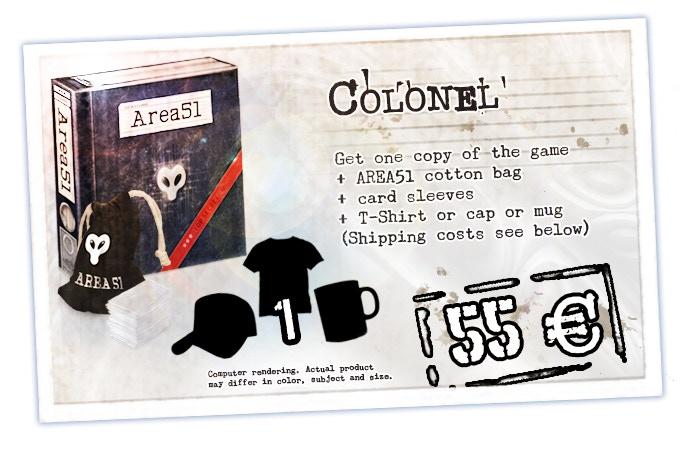 Area 51 - Top Secret (board game) by Harald Mücke — Kickstarter