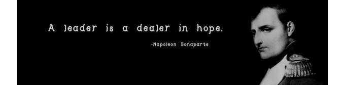 (Hope. The choice drug of dreamers everywhere)