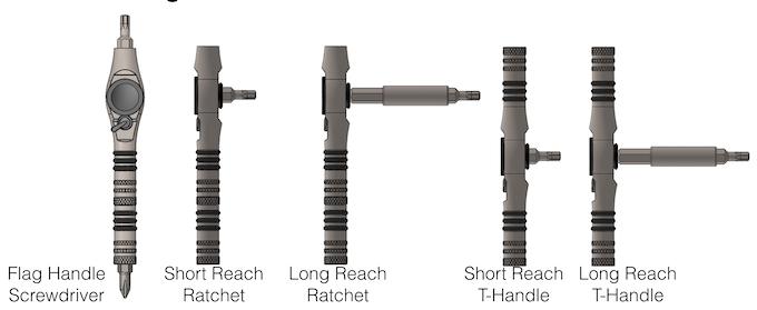 T-Ratchet Configurations