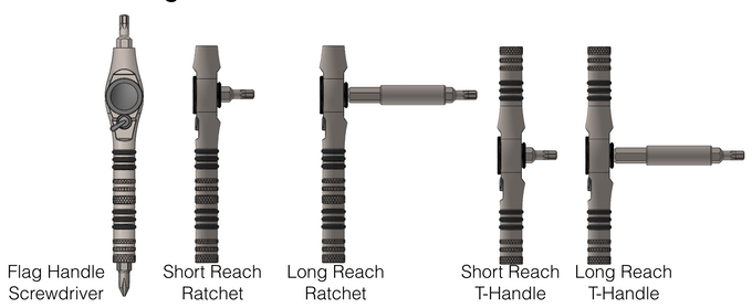 T-Ratchet Configurations