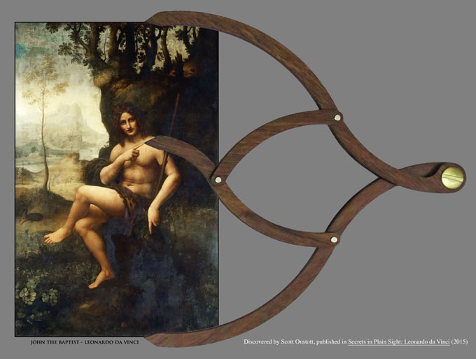 "The golden ratio is an expression of the Hermetic concept, ""As above, so below."""