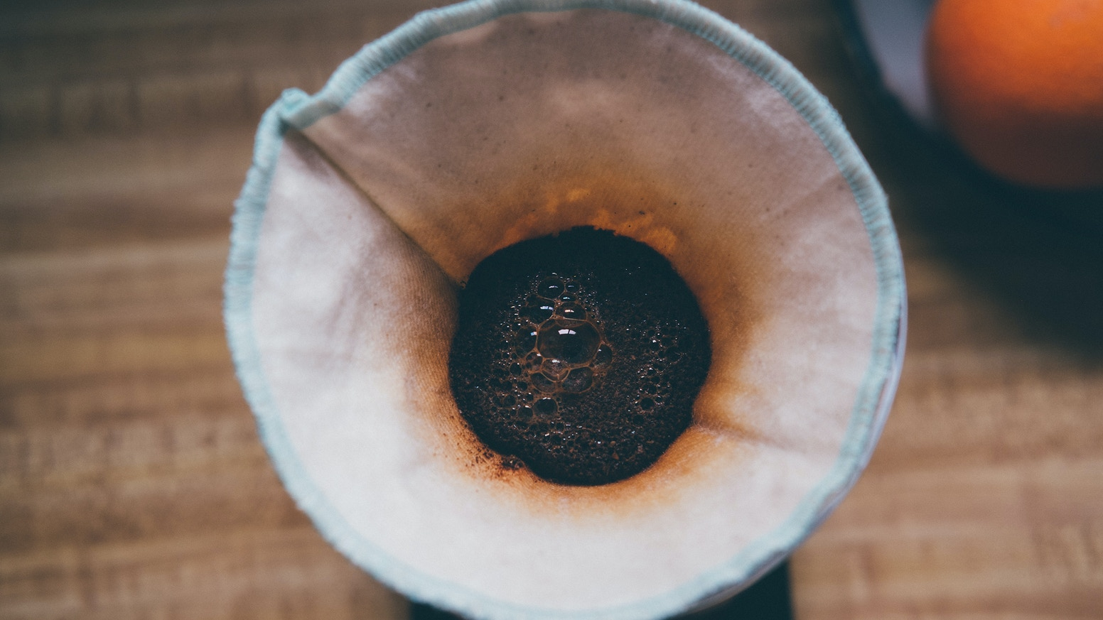 Combining the crafts of coffee and textiles with organic cotton pourover coffee filters