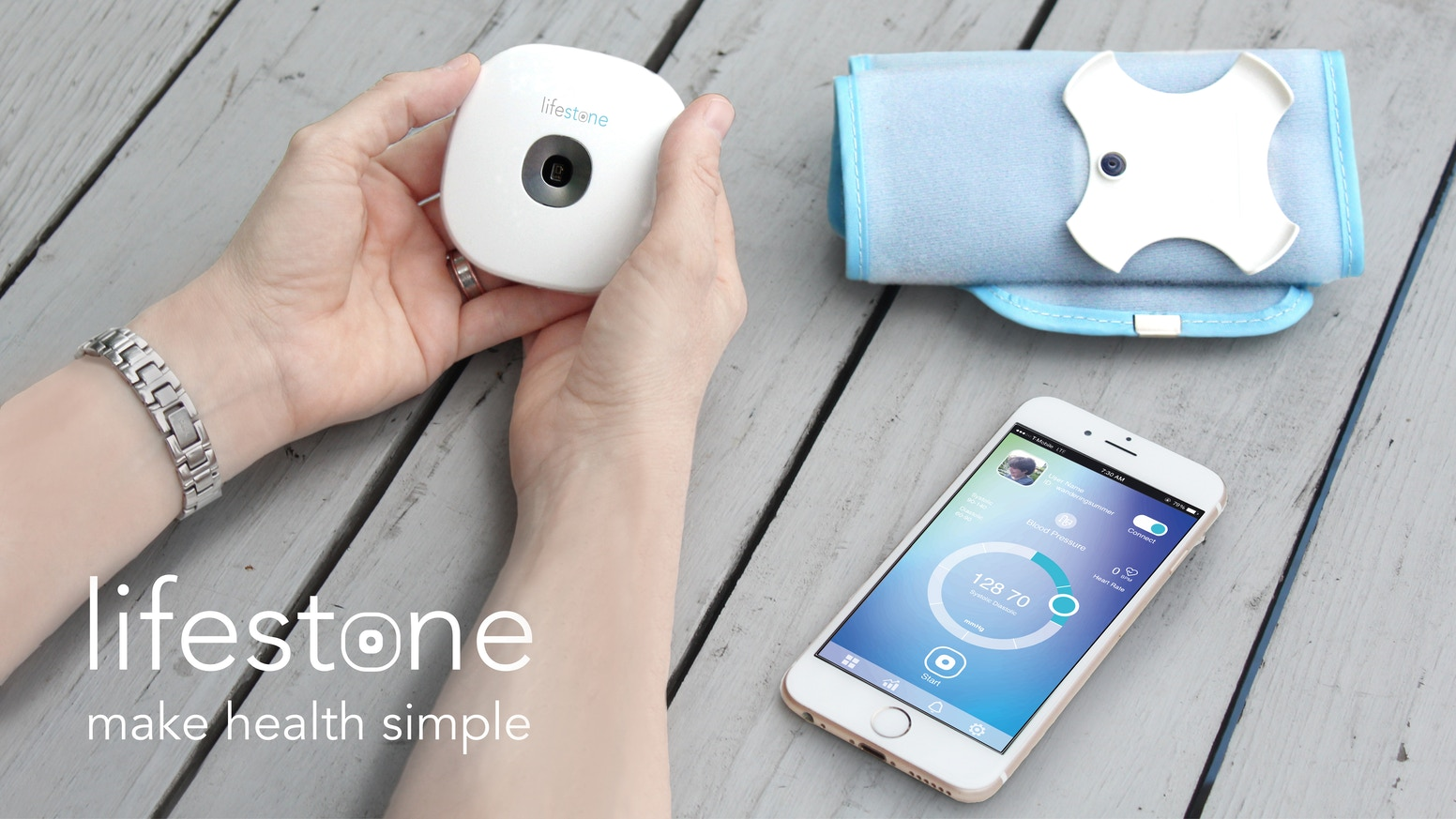 Please contact us by this email: support@miotio.com. Tracking and managing your health data has never been so simple. Lifestone - an elegant, powerful gadget that your family can rely on.
