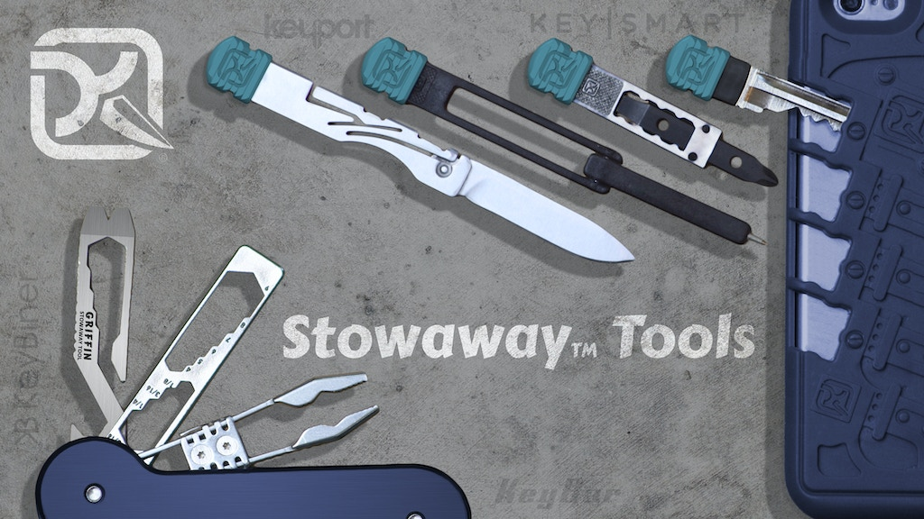 Stowaway™ Tools & Carriers: EDC Redefined project video thumbnail