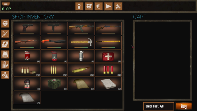 There will be over 70 items in the final release of Vigilantes