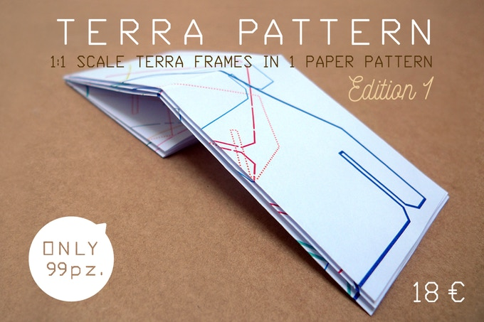 TERRA!PATTERN scale 1:1 (A0 dimensions in 33.1 × 46.8 / mm  841 × 1189)