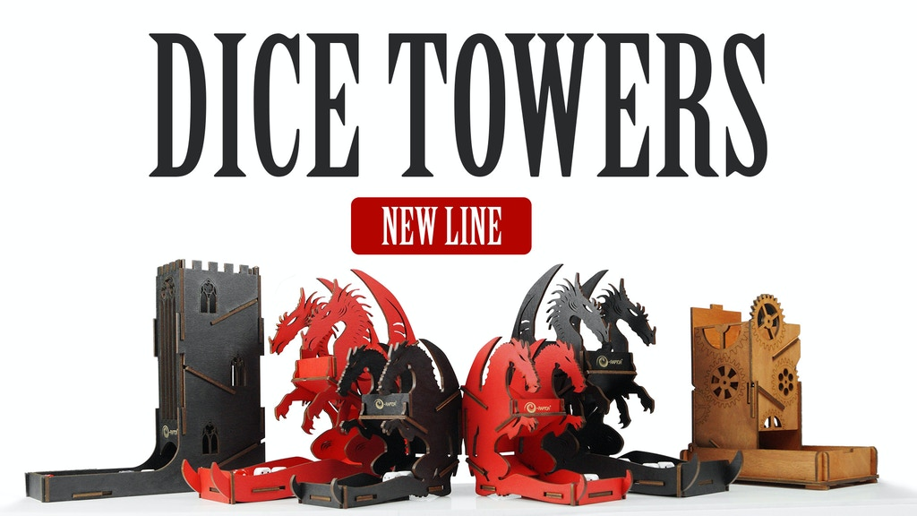 New Line of Fine Art Dice Towers project video thumbnail