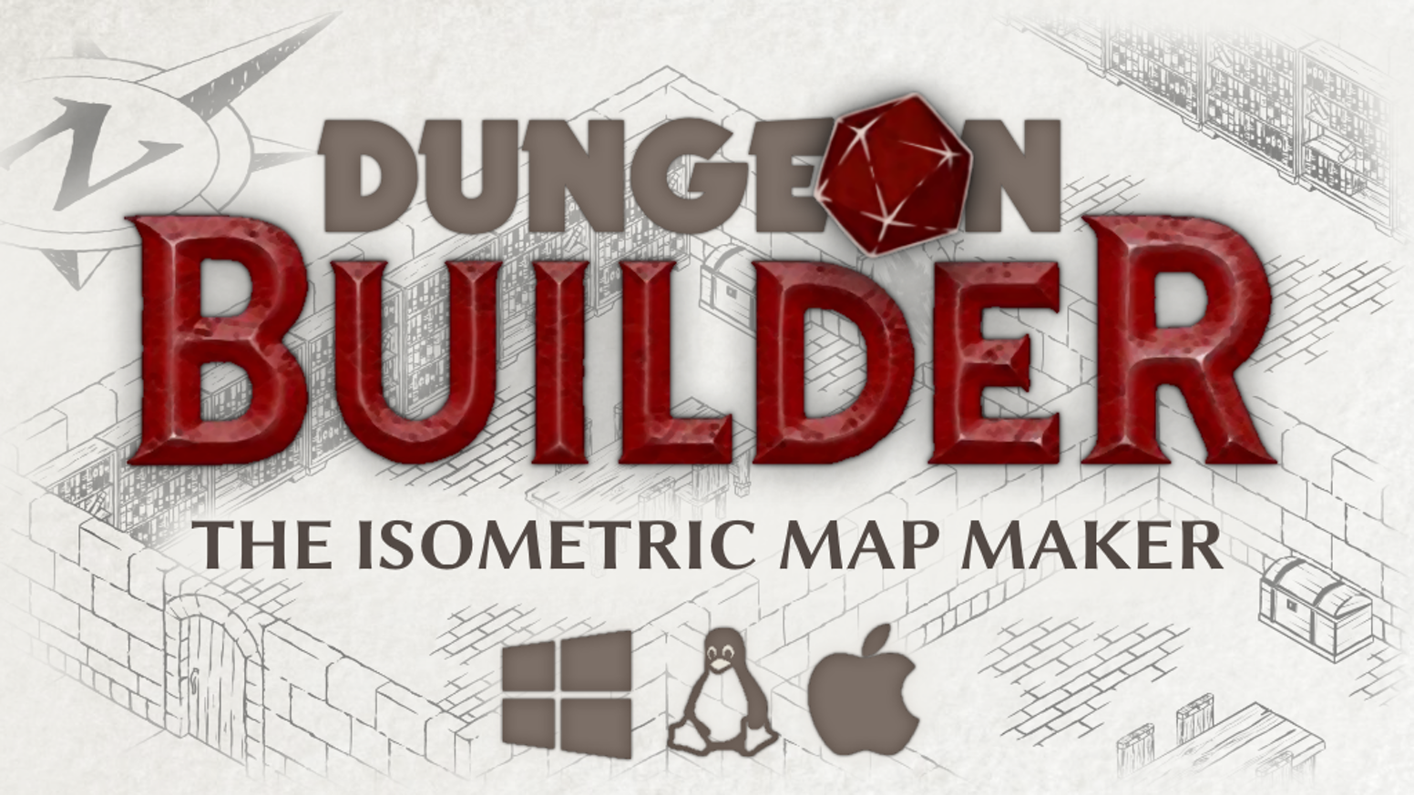 Dungeon builder an isometric map maker for role players by hobbyte were creating an isometric dungeon map maker that produces beautiful high resolution maps gumiabroncs Gallery