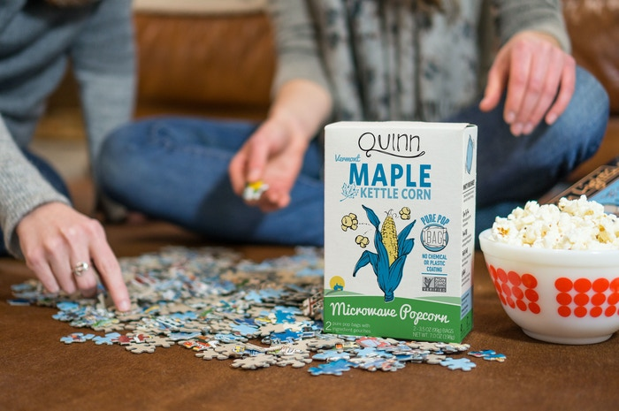 We set out to reinvent microwave popcorn, and with your help we did it! A patented chemical free bag, the best ingredients, and awesome flavors!
